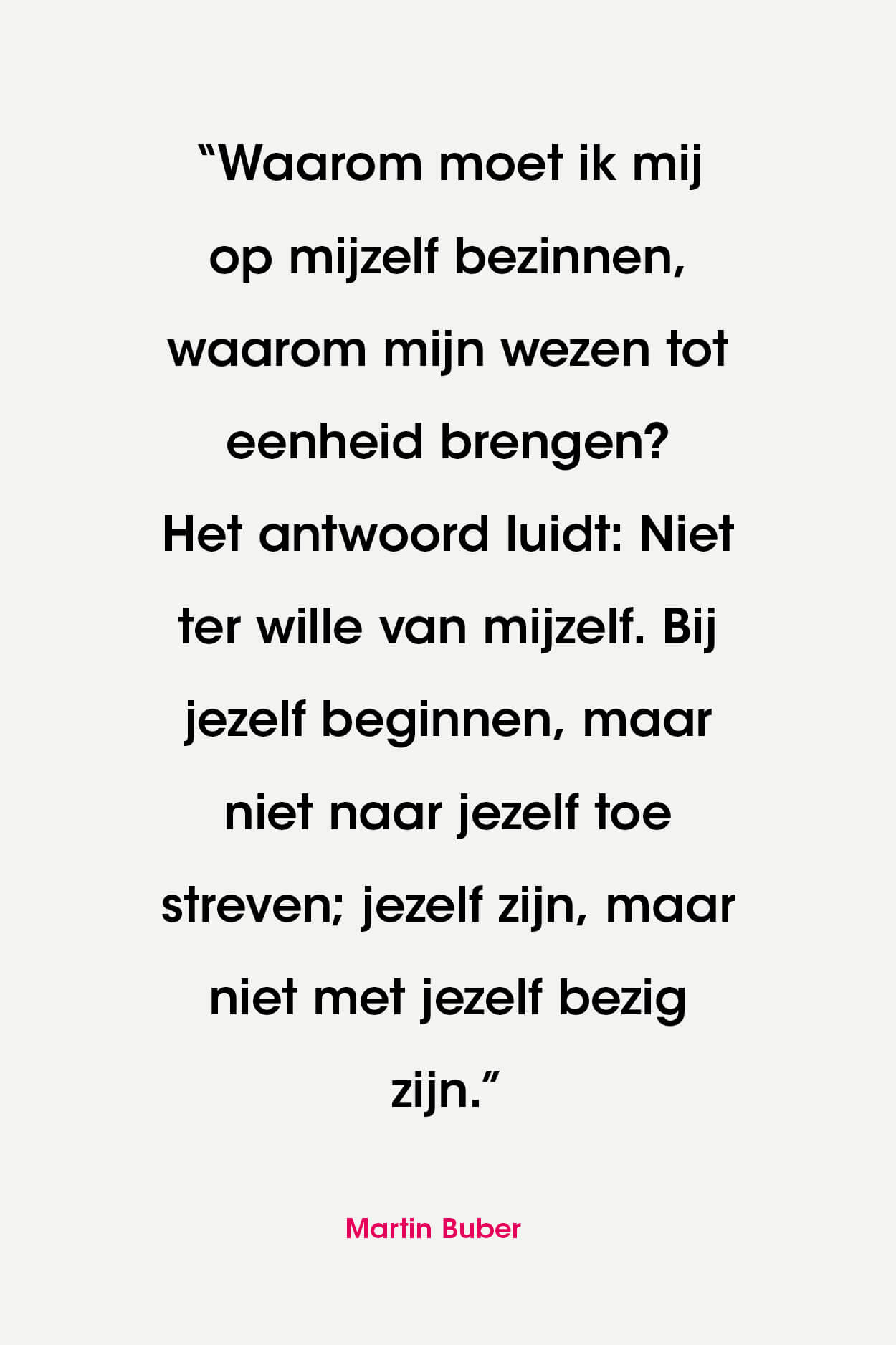VHL-Quote Martin Buber